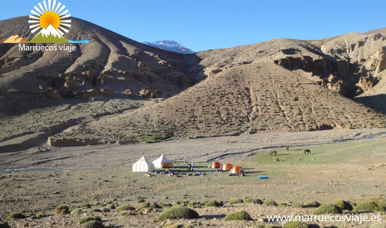 trekking por el atlas central el Mgoun y el valle feliz, el circo de taghia