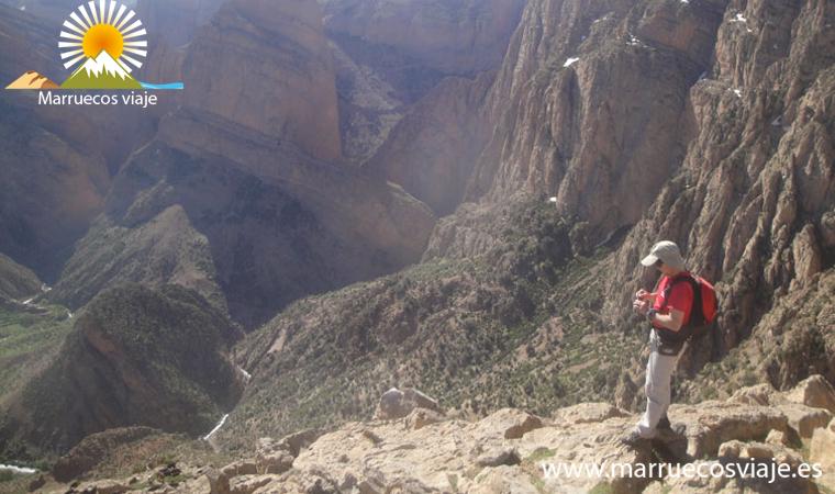 trekking por el alto atlas central