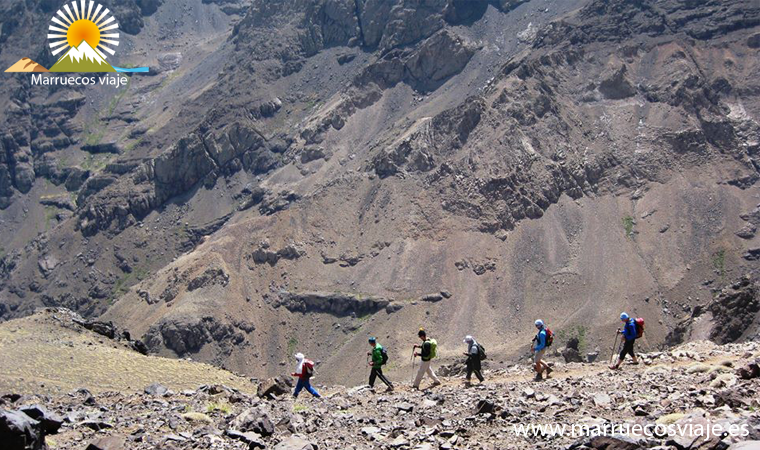 trekking ascension de Toubkal